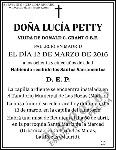 Lucía Petty
